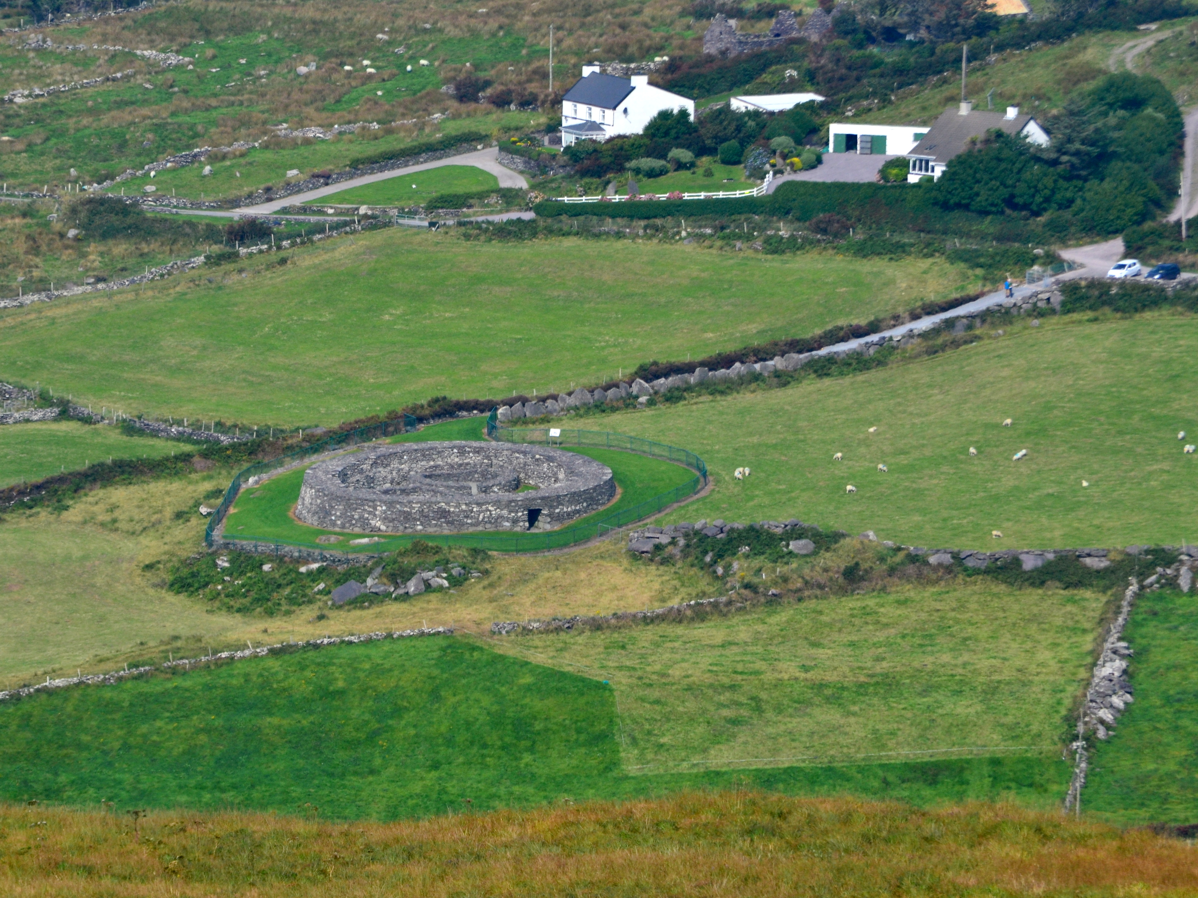 Ringfort on Ring of Kerry