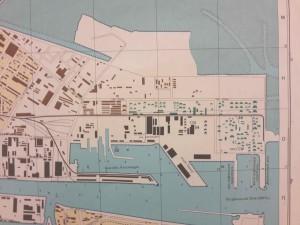Dublin Port, 1980.