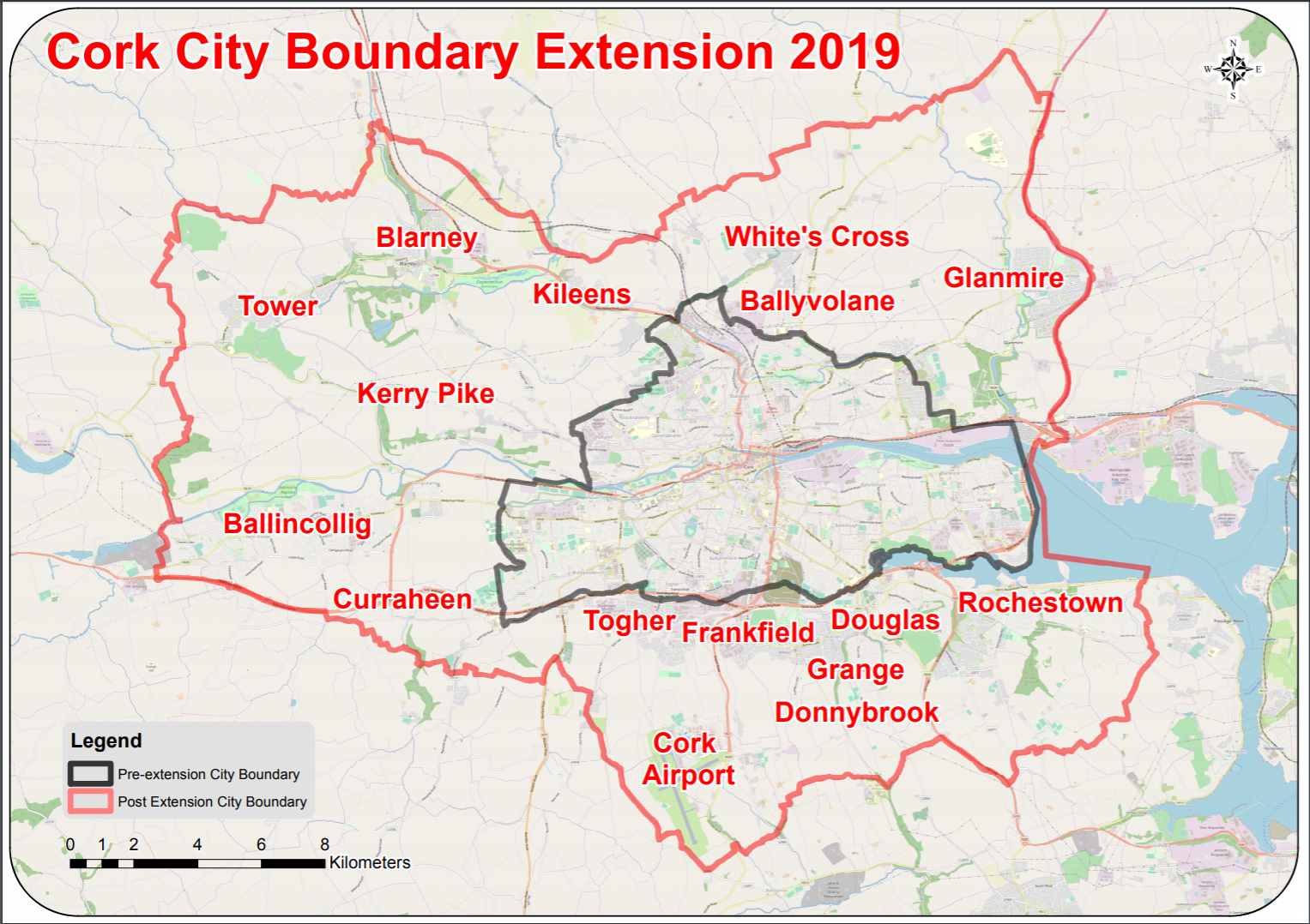 New Cork City Boundary